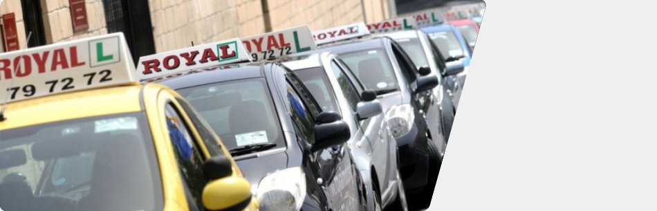 Royal Motoring is a Malta motoring school which provides manual and automatic vehicle lessons